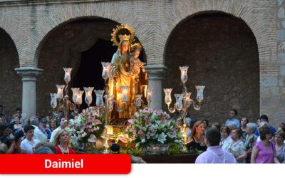 Triduo y función religiosa como única celebración de la Virgen del Carmen