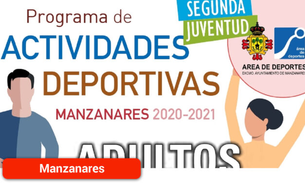 El Área de Deportes publica el programa de actividades deportivas para adultos y Segunda Juventud