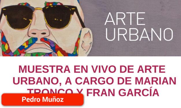 El martes 11 de agosto muestra en vivo de Arte Urbano