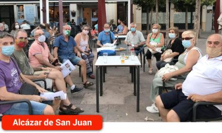 Equo Alcázar Vecinal se reúne con la Asociación Luz de La Mancha para escuchar sus demandas