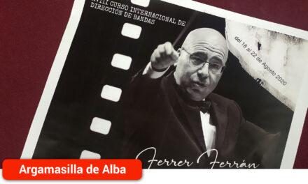 Ferrer Ferrán dirigirá un año más el 18º Curso Internacional de Dirección de Bandas que contará con el estreno mundial de su obra 'Ave Fénix'
