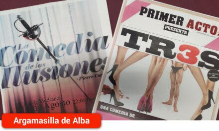 Las XXXVI Jornadas de Teatro 'Cueva de Cervantes' retoman la actividad cultural con los estrenos de 'Tres' y 'La Comedia de las Ilusiones' del 14 al 16 de agosto