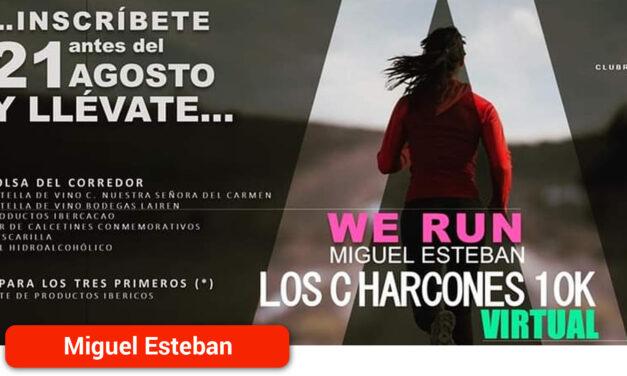 Últimos días para inscribirse en la XII Carrera Popular 'Los Charcones'