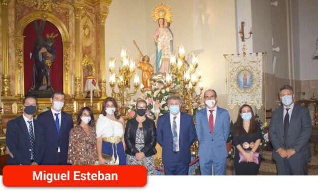 La localidad celebró el día de su patrona con una emotiva Eucaristía
