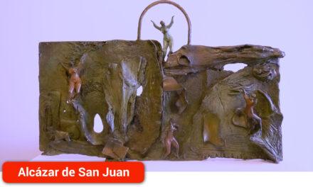La exposición del escultor Jorge Lencero une alma y caos en la Galería de Arte Marmurán