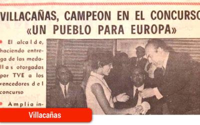 Este domingo se cumple el 50º aniversario de la victoria en el concurso de TVE «Un pueblo para Europa»