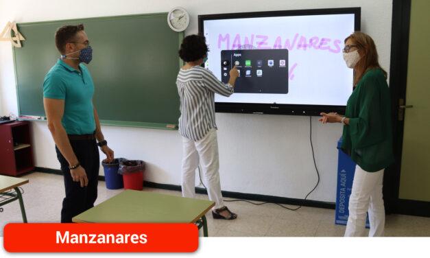 Las aulas de los colegios 'Tierno Galván' y 'La Candelaria' se digitalizan gracias al proyecto 'Carmenta'