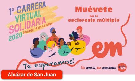 Este fin de semana se celebrará la Carrera Solidaria Virtual Muévete por la Esclerosis Múltiple