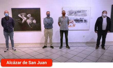 Pedro M. Pérez y Pedro Camacho, ganadores del XXIV Certamen Internacional de Pintura 'Ciudad de Alcázar' que se expone de manera virtual para pc y dispositivos móviles