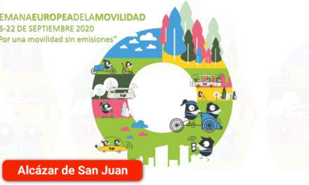 Rutas interurbanas como la de la Junta de los Ríos Záncara y Gigüela o la del Camino de Villafranca y las Yeguas  en la Semana Europea de la Movilidad
