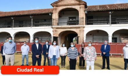 La Diputación financia la rehabilitación de la plaza de toros de Almadén para incorporarla a la Red Regional de Hospederías