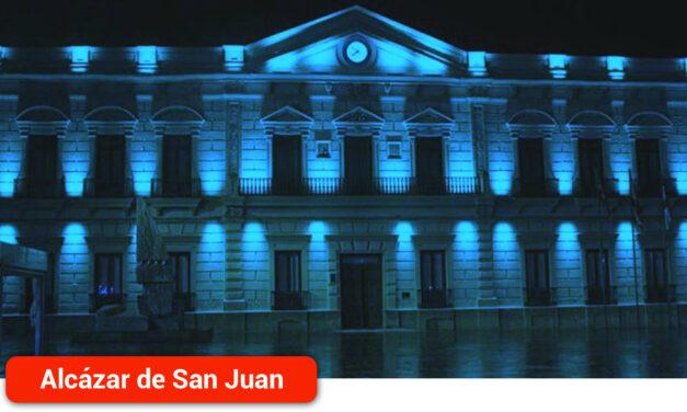 La fachada del Ayuntamiento hoy se iluminará de azul conmemorando el Día Nacional del Daño Cerebral Sobrevenido