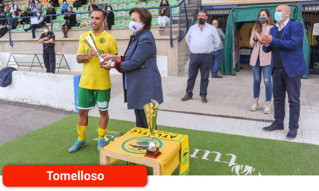 El 'Memorial Jesús Úbeda' disputado por el Atlético Tomelloso se va a Balazote