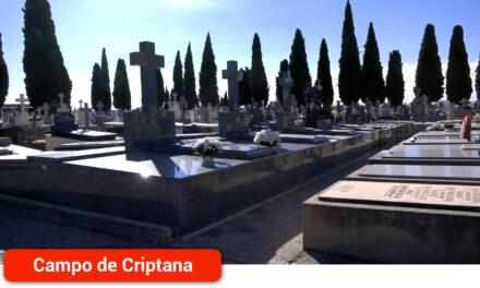 No hará falta pedir cita previa para acceder al cementerio municipal en estos días