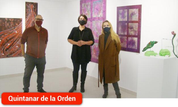 El Centro Cultural El Recreo acoge una exposición arte abstracto de la artista M!UP