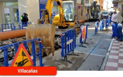 Comienza la obra de renovación de la red de alcantarillado en la calle Mayor