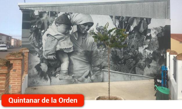 Franz Campoy vuelve a mostrar su arte con un magnífico mural en la Calle El Carmen