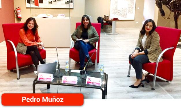 Conversando sobre pueblos, mujeres y comunicación con Claudia Moreno Muñoz, Desirée Perea Reillo y Gema Zarco Pozo