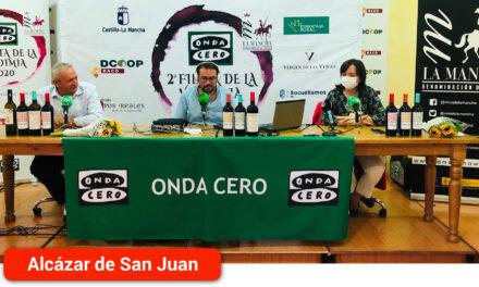 La alcaldesa en la Brújula de Castilla-La Mancha de Onda Cero: Afirmaba que de una manera o de otra Alcázar tendrá Carnaval