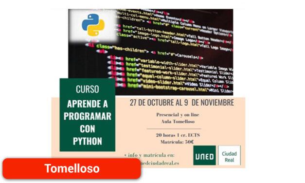 La UNED impartirá un curso de programación con Python