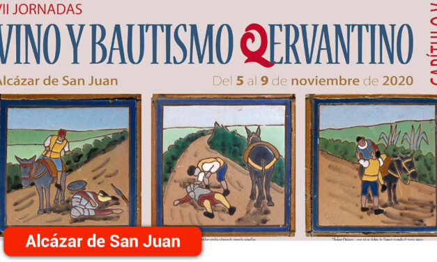 Catas comentadas y rutas guiadas en las VII Jornadas de Vino y Bautismo Qervantino