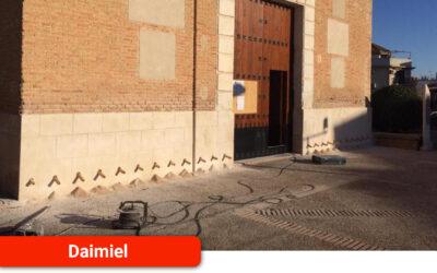 Inicio de las actuaciones sobre las humedades en la Iglesia de La Paz