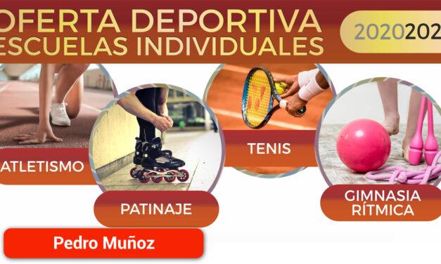 Escuelas deportivas individuales 2020/2021