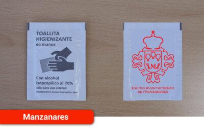 El Ayuntamiento repartirá a la hostelería 300.000 monodosis de gel hidroalcohólico y toallitas desinfectantes