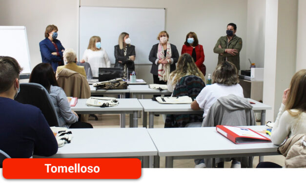El Gobierno de Castilla-La Mancha lleva invertidos más de 1,7 millones de euros en formación y empleo en Tomelloso en la presente legislatura