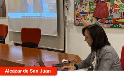 La alcaldesa participa en la Red de colaboración de impulso del Ramal Central de los Corredores Mediterráneo y Atlántico