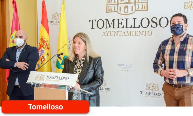 La alcaldesa presenta la convocatoria de ayudas directas para pymes y autónomos, con un presupuesto total de 500.000 euros