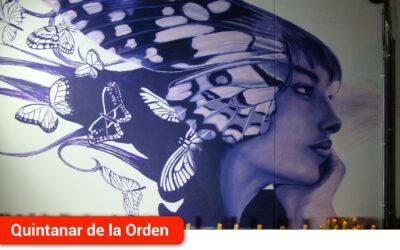Un mural, iluminación del Ayuntamiento y lectura de un manifiesto para conmemorar el Día Internacional Contra la Violencia de Género