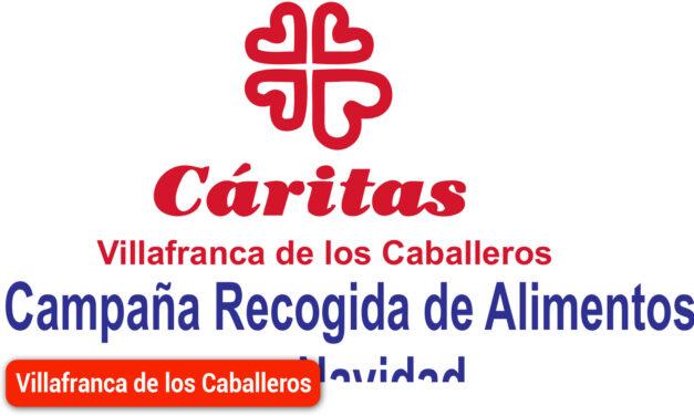 Campaña de recogida de alimentos Cáritas