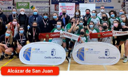 El Gobierno regional felicita al CB CEI Toledo por proclamarse campeón del Trofeo Junta de Comunidades de Baloncesto Femenino