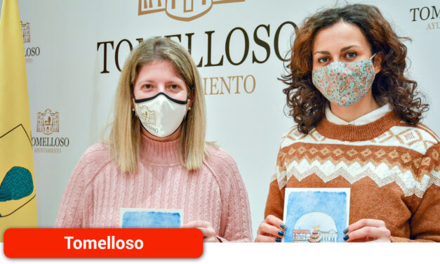 La alcaldesa felicitará la Navidad con una imagen de la diseñadora e ilustradora local Noelia Medina y una frase de Eladio Cabañero