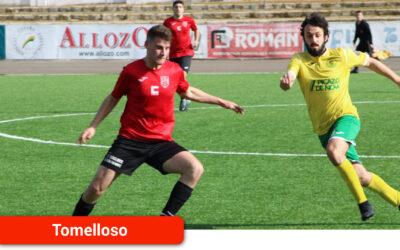 El Atlético Tomelloso, desconocido y desdibujado en el tramo final del encuentro, cae por 0-2 en casa ante el San José Obrero