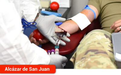 Cerca de 2.800 donantes pasaron por el  punto de donación de sangre del Hospital Mancha Centro en 2020