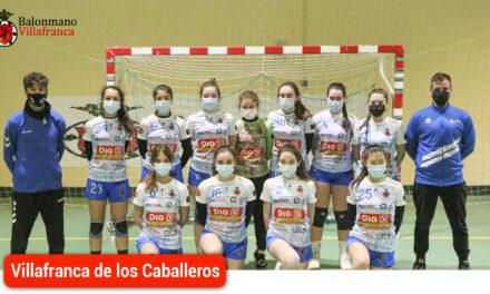 Victoria del juvenil femenino DÍA Balonmano Villafranca por 28-17 ante Deportivo Retamar
