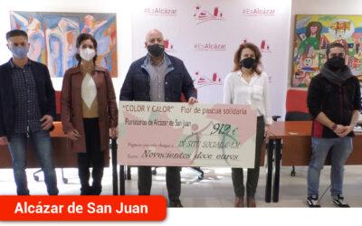 La campaña solidaria puesta en marcha por las floristerías recauda 912 euros para In-Situ Social