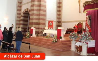Se celebra con actos religiosos la festividad de San Sebastián