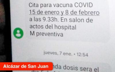 La Gerencia desmiente que se esté dando cita para vacunarse contra el coronavirus a través de mensajes SMS