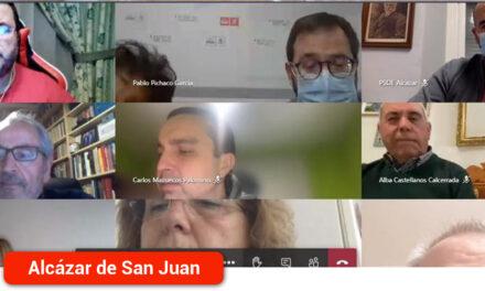 EL PSOE de Alcázar celebra reunión informativa para dar a conocer a sus militantes el proceso de recuperación de Aguas de Alcázar