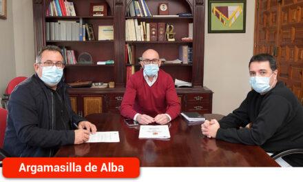 El Ayuntamiento y el Atlético Cervantino rubrican el convenio de colaboración rubrican el convenio de colaboración
