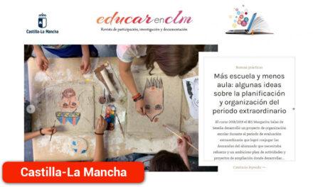 Revista digital 'EducarenCLM' para acercar el trabajo de la comunidad educativa a toda la ciudadanía