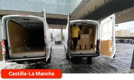 Superado los 39 millones de artículos de protección enviados a los centros sanitarios desde el inicio de la pandemia