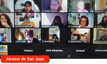Reunión virtual de la Red de Infancia para continuar la defensa de los Derechos de la infancia