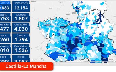 Alcázar de San Juan roza los 500 contagios en las dos últimas semanas con una evolución preocupante en el resto de municipios