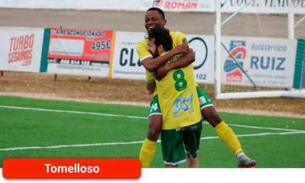 El Atlético Tomelloso se lleva el partido contra la Ossa con el hat-trick de Amor