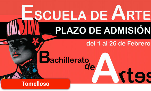 Abierto el plazo de admisión del Bachillerato de Artes en la Escuela de Arte y Superior de Diseño Antonio López