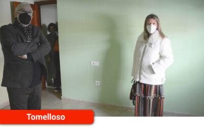 El Gobierno de Castilla-La Mancha cede viviendas a dos de las familias damnificadas por el derrumbe de su casa el pasado día 7 en Tomelloso